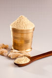 Fresh Ginger Powder. Fresh Ginger Powder is often used in indian recipes to add more spicy Stock Images