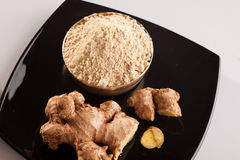 Fresh Ginger Powder. Stock Images