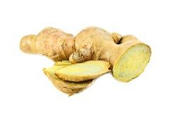Fresh ginger root Royalty Free Stock Image