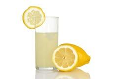 Fresh glass of lemonade Stock Image