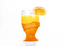 Fresh Glass of orange juice Royalty Free Stock Image