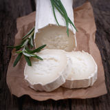 Fresh goat cheese Royalty Free Stock Photo