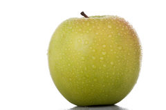 Fresh golden apple Stock Photo