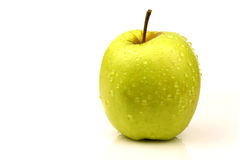 Fresh Golden Delicious apple Stock Images