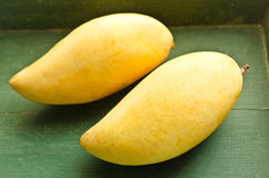Fresh golden mango Stock Photos