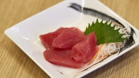 Fresh good tuna meat stock images