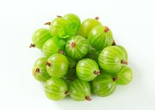 Fresh gooseberries Stock Photos