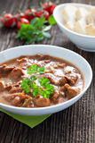 Fresh goulash Stock Photos