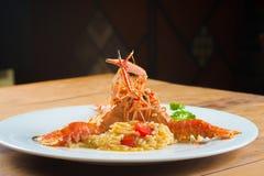 Fresh Gourmet Lagostines Royalty Free Stock Photos