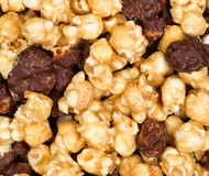 Fresh Gourmet popcorn in filled frame layout Royalty Free Stock Image