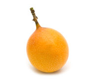 Fresh granadilla. On white background Stock Photography