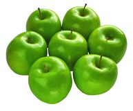 Fresh Granny Smith apples Royalty Free Stock Photo