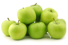 Fresh Granny Smith apples Royalty Free Stock Photos