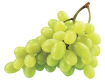 Fresh grape. Fresh appetizer sweet green grape royalty free stock images
