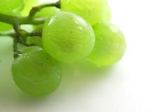 Fresh grape. On white background (Isolated Stock Image