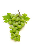 Fresh grape. On white background stock photography