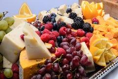 Fresh Fruit Plate Stock Photos