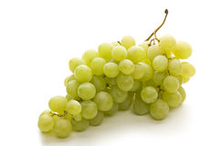 Fresh grape fuits isolated. On white background stock images
