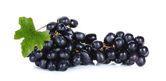 Fresh Grape isolated on the white back ground Stock Images