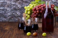 Fresh grape juice Stock Photo