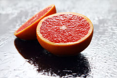 Fresh grapefruit Royalty Free Stock Images