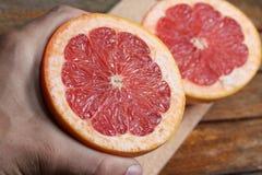 Fresh grapefruit 4 Stock Photography