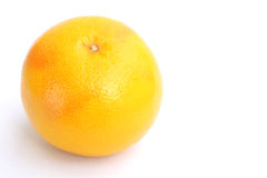 Fresh grapefruit. Juicy grapefruit isolated on white Royalty Free Stock Photo