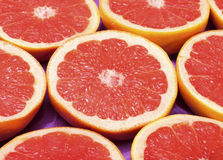 Fresh grapefruit background Royalty Free Stock Photography