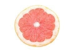 Fresh grapefruit cut in half Stock Images