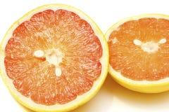 Fresh Grapefruit Cut In Half Royalty Free Stock Photos