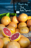 Fresh grapefruit Stock Photography