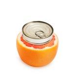 Fresh grapefruit isolated Royalty Free Stock Image