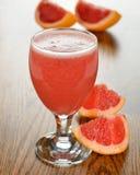 Fresh grapefruit juice Stock Image
