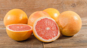 Fresh grapefruits Royalty Free Stock Images