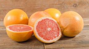 Fresh grapefruits Royalty Free Stock Images