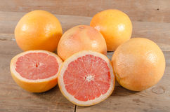 Fresh grapefruits Stock Photography