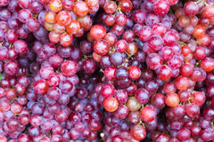 Fresh grapes, natural fruit background royalty free stock image