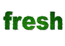 Fresh with grass Stock Photo