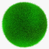 Fresh grass ball Stock Photo
