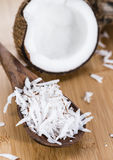 Fresh Grated Coconut Stock Images
