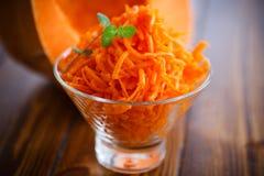 Fresh grated pumpkin Royalty Free Stock Photos