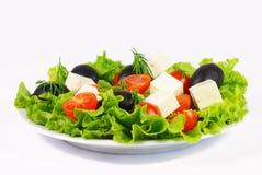Fresh Greek salad Stock Photos