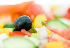 Fresh greek salad Royalty Free Stock Photos