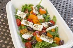 Fresh greek salad Stock Photography