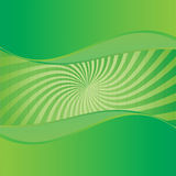 Fresh Green Abstract Background. Vector Royalty Free Illustration
