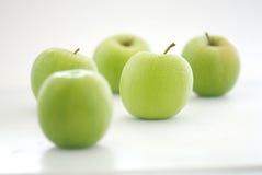 Fresh Green Apple Royalty Free Stock Photos