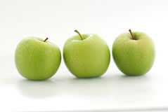 Fresh Green Apple Royalty Free Stock Photo
