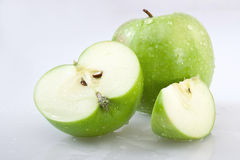 Fresh Green Apple Royalty Free Stock Images