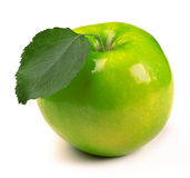 Fresh green apple Royalty Free Stock Photography