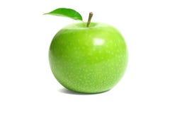 Fresh green apple. Isolated on white background Royalty Free Stock Photo